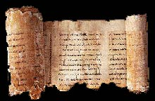 The Isaiah Scroll from the Dead Sea Scrolls