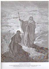 Samuel Anointing Saul the 1st King of Israel by: Gustave Dore's