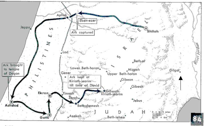 Gilgal: The Location of Saul's coronation