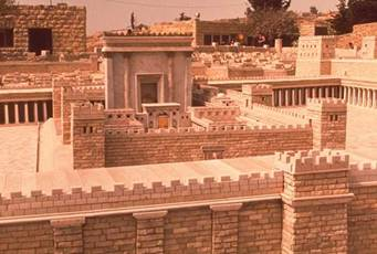 The Prophet Isaiah predicts that the Holy Temple will be rebuilt in the time of the Messiah.