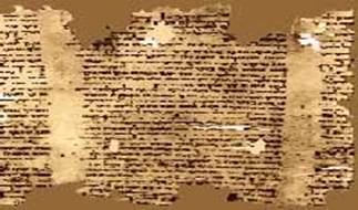 The 2000 year old Isaiah Scroll and the Cave it was found in Qumran, Israel