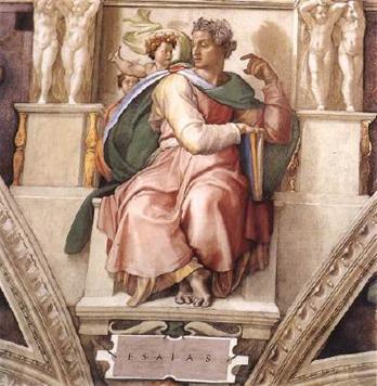 The Prophet Isaiah – Michelangelo