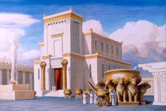 King Solomon's Holy Temple  Used with permission from The Temple Institute, Jerusalem Israe