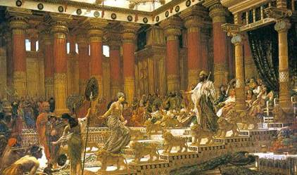 King Solomon's Throne Room