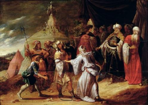 Samuel Killing Agag, King of the Amalekites By Rombout Van Troyen b. 1605, Amsterdam, d. 1656, Amsterdam