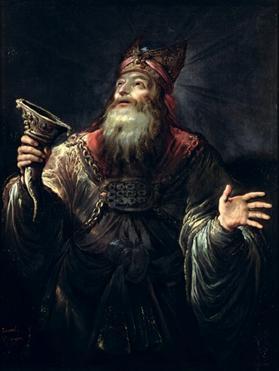 The Prophet Samuel by: Claude Vignon