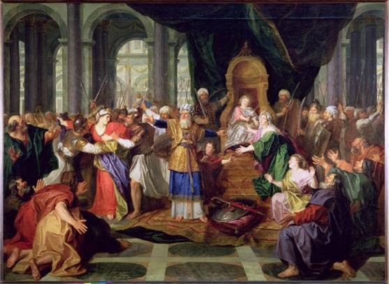 Credit: Athaliah Expelled from the Temple, painted before 1697 by Coypel, Antoine (1661-1722) Louvre, Paris, France/ Peter Willi/ The Bridgeman Art Library Nationality Copyright status: French / out of copyright
