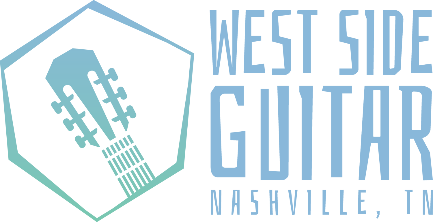 West Side Guitar - Best Lessons in Nashville - Kids, Teens, & Adults - Guitar, Bass, Ukulele, & Songwriting - 2 FREE