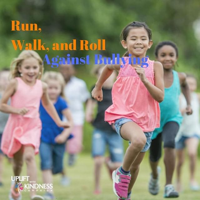 Are you registered for our 5k run on Oct 21st? A Run, Walk, Roll Against Bullying is a family-friendly event held by schools, businesses and/or communities to show the nation's commitment to keeping students safe while at school, in the community, and on-line. Register now: www.georgiaagainstbullying5k.com  #upliftwithkindness #Unitydaygeorgia #stopbullying #spreadlove #Atlanta