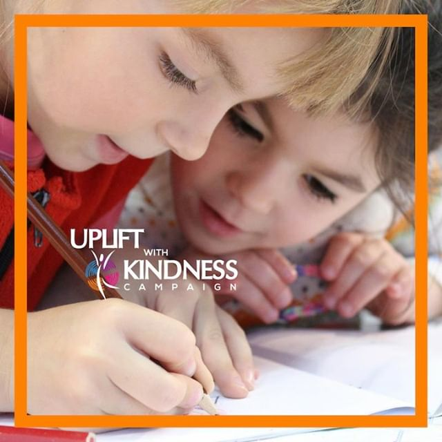Lend a hand today to someone in need....Just Because!  #upliftwithkindness #Unitydaygeorgia #stopbullying #spreadlove #Atlanta