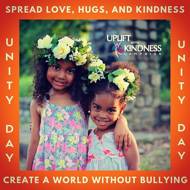 Wear orange today for Unity Day. United in KINDNESS, ACCEPTANCE, and INCLUSION.  www.upliftwithkindness.com/events/unitydaygeorgia  #upliftwithkindness #Unitydaygeorgia #unityday2018 #spreadlove #Atlanta #georgia #georgiaagainstbullying #stopbullying #antibullying #atlantafalcons #bekind #mentalhealth #youarenotalone #suicideprevention #silencetheshame #gethelp #therapy