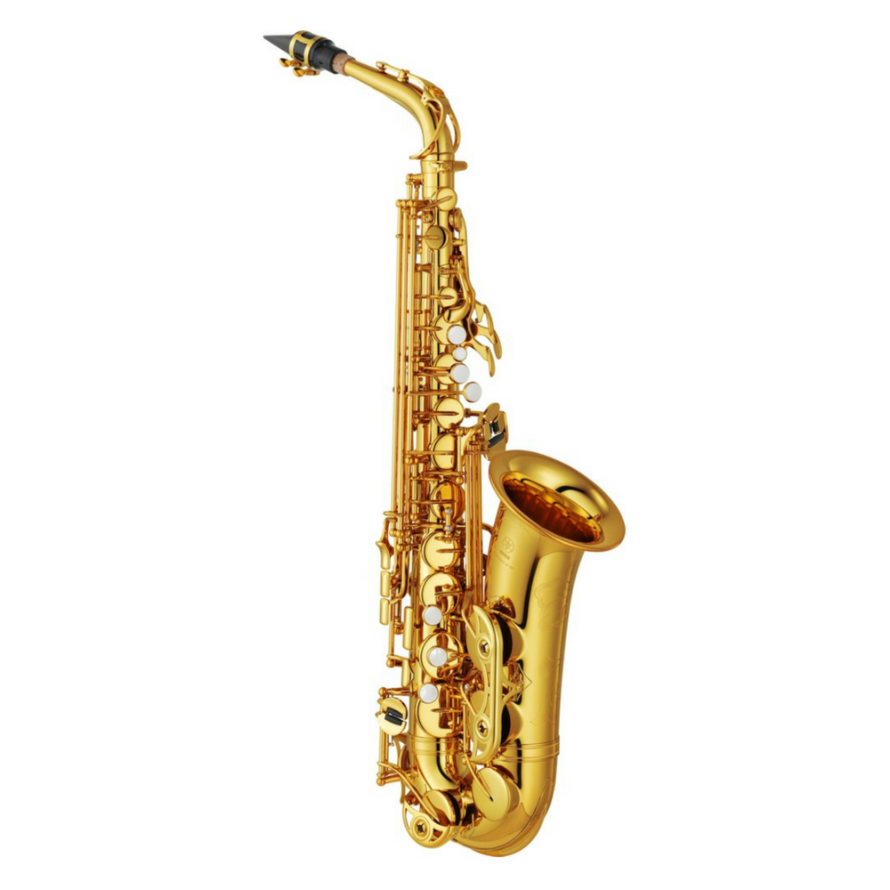 ALTO SAXOPHONE - 4 MTH $105.81 / 10 MTH $200.93 / MTHLY RE-RENTAL  $44.35