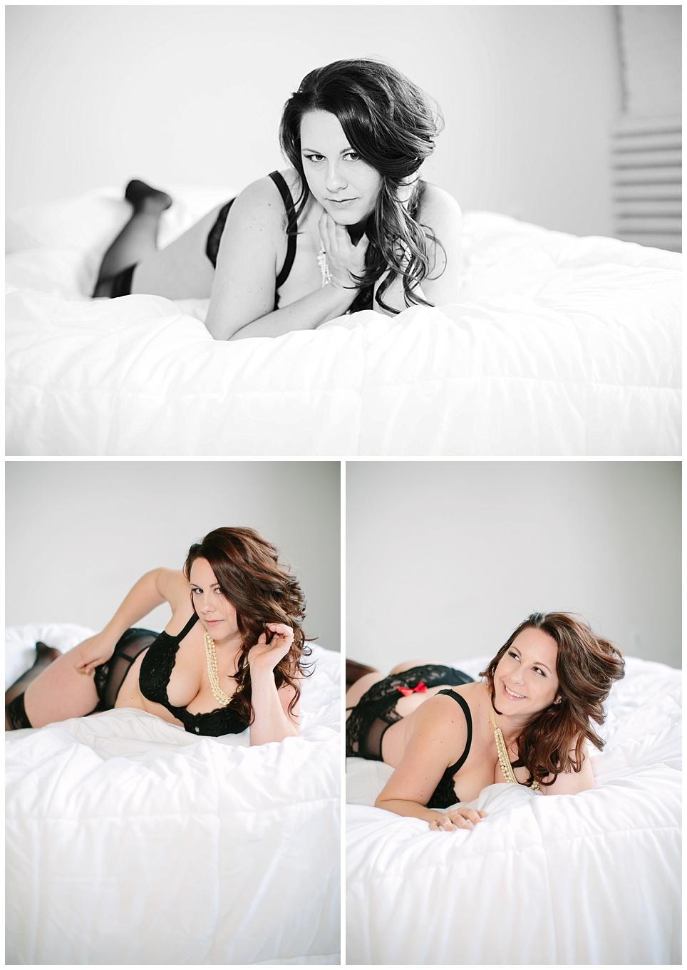 Milwaukee soft and romantic boudoir photography