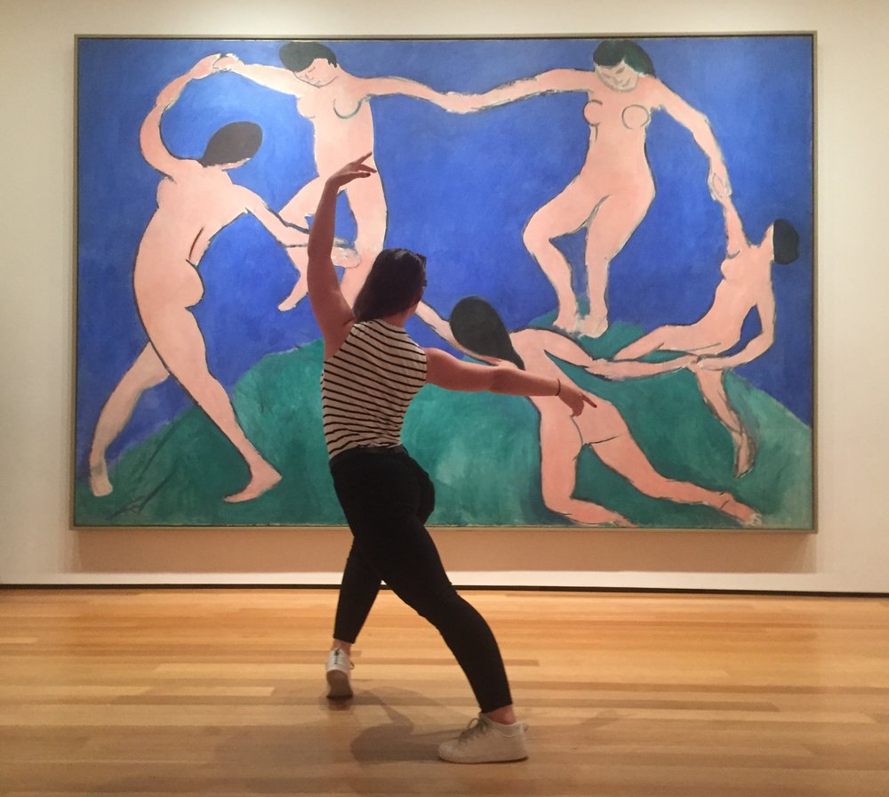 With Matisse in MoMA.jpg