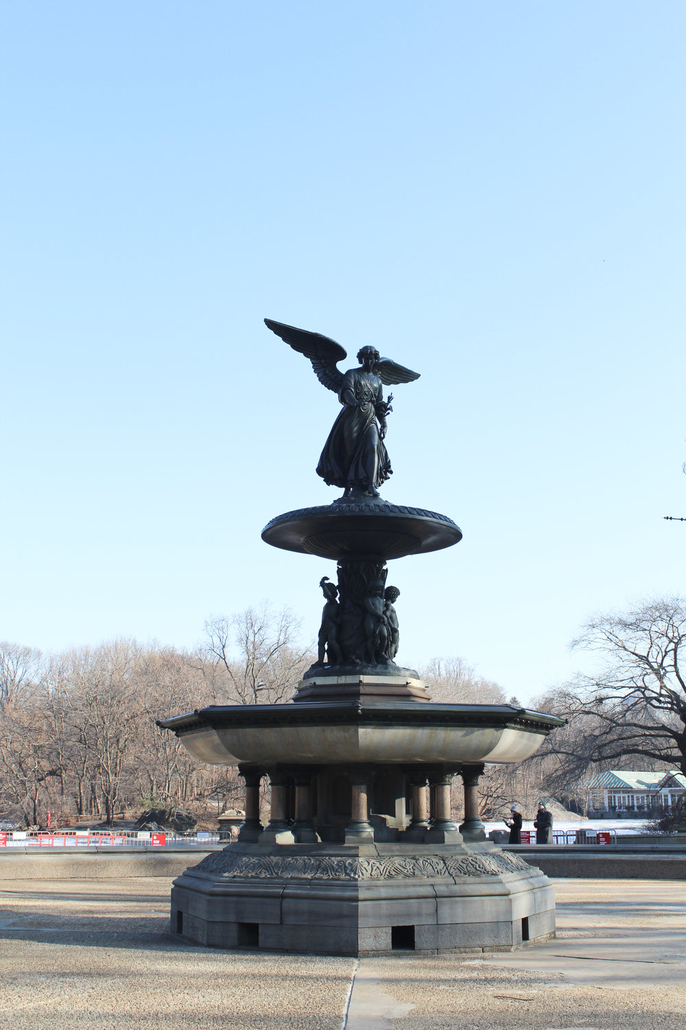 Bethesda Fountain winter