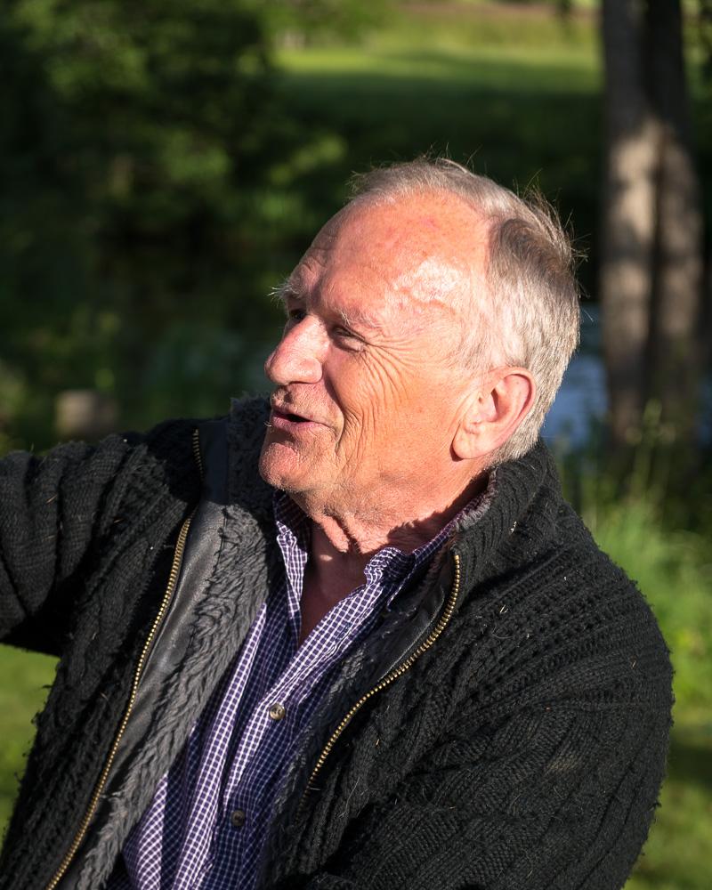 Konsthallens Curator, Jim Axén