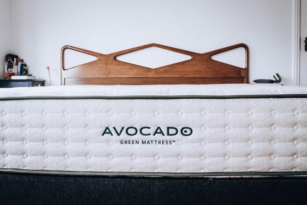 Mattress from  Avocado Green Mattresses.