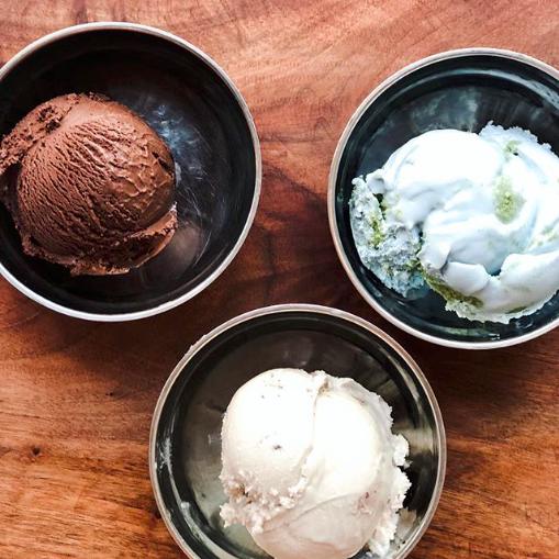 vegan ice cream at van leeuwen ice cream