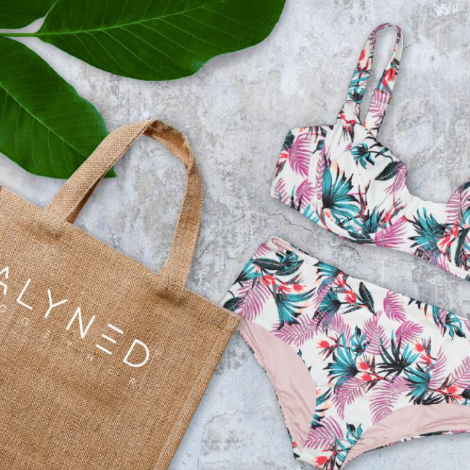 Alyned Together sustainable swimwear
