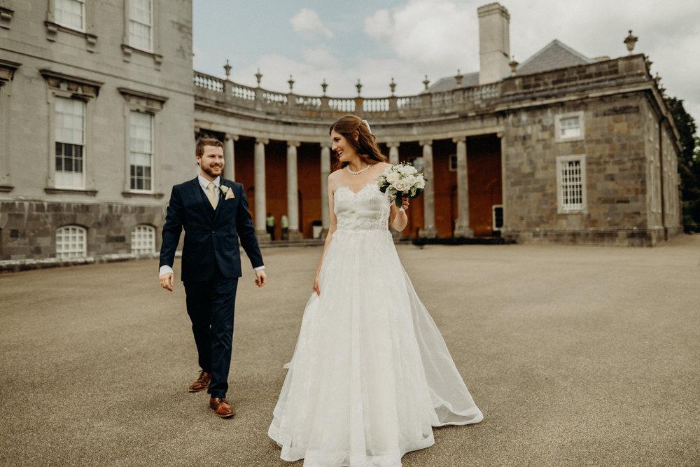 Castletown House - Celbridge Manor Hotel Wedding - Elopement Ireland-139.jpg
