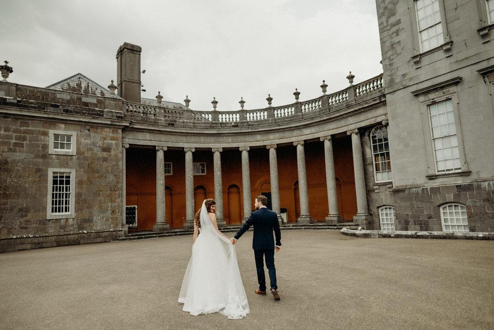 Castletown House - Celbridge Manor Hotel Wedding - Elopement Ireland-145.jpg