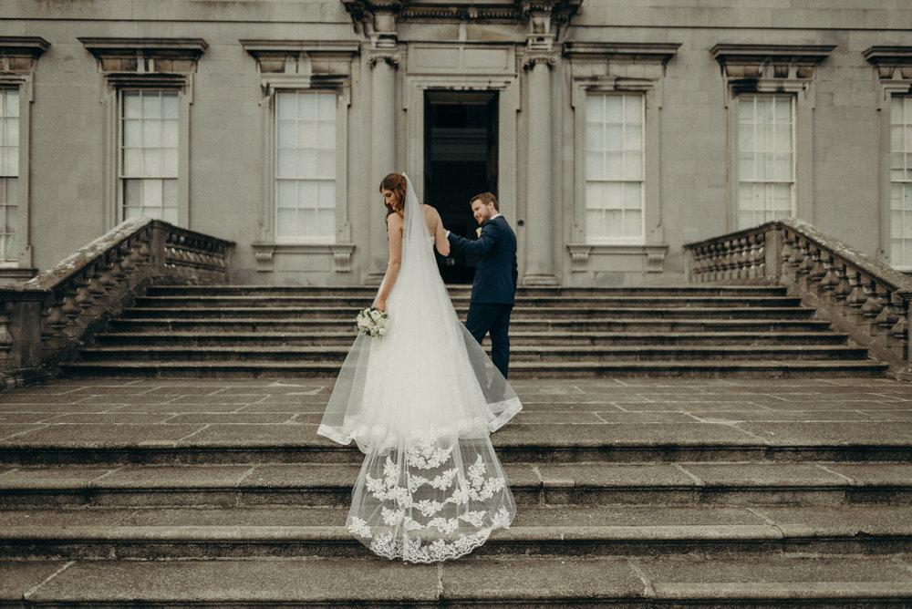 Castletown House - Celbridge Manor Hotel Wedding - Elopement Ireland-155.jpg