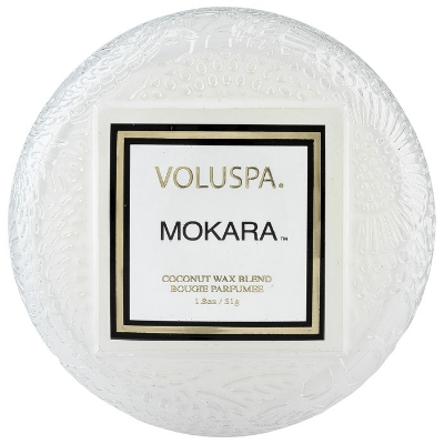 Voluspa Mokara:   I have a major obsession with Voluspa. They are on the pricier side, but y'all these last FOREVER and your WHOLE HOUSE will smell amazing without it being overwhelming…candle magicians!