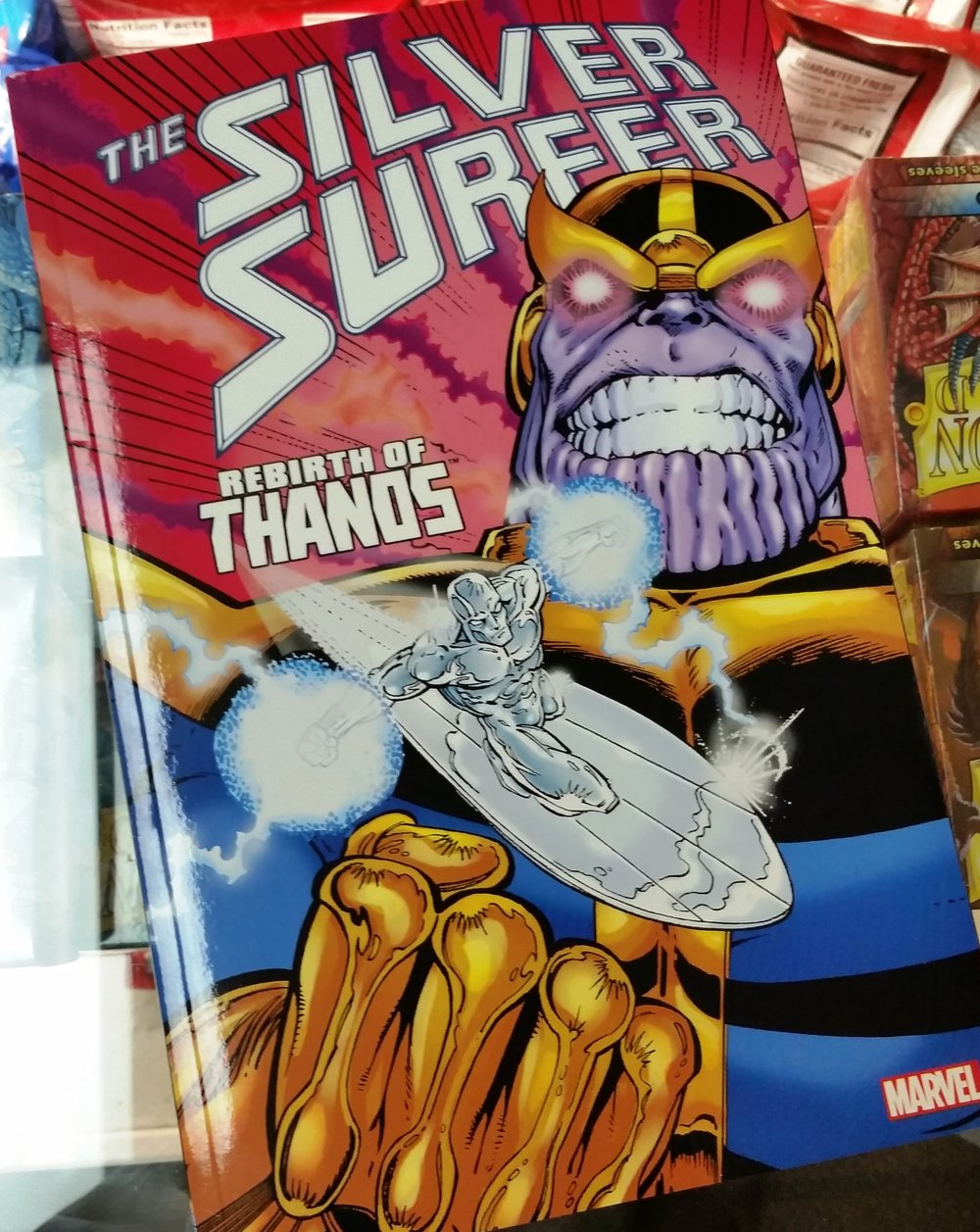 Silver Surfer: Rebirth of Thanos - By Jim Starlin (DC)