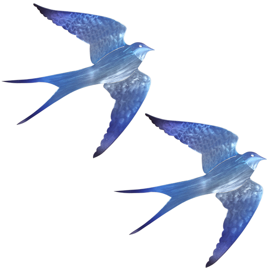 Swallow Duo Wall Decor Cricket Forge