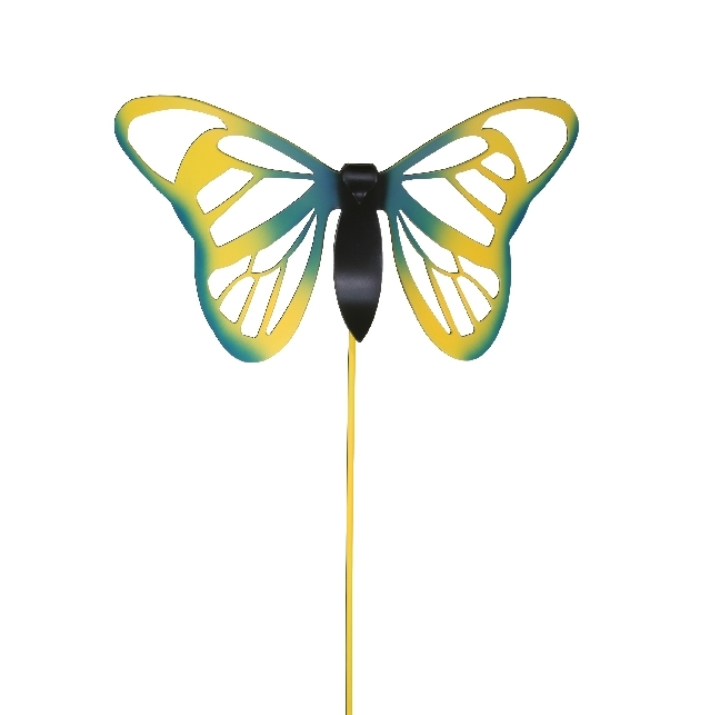 Baltimore Butterfly Garden Stakes   Set Of 2