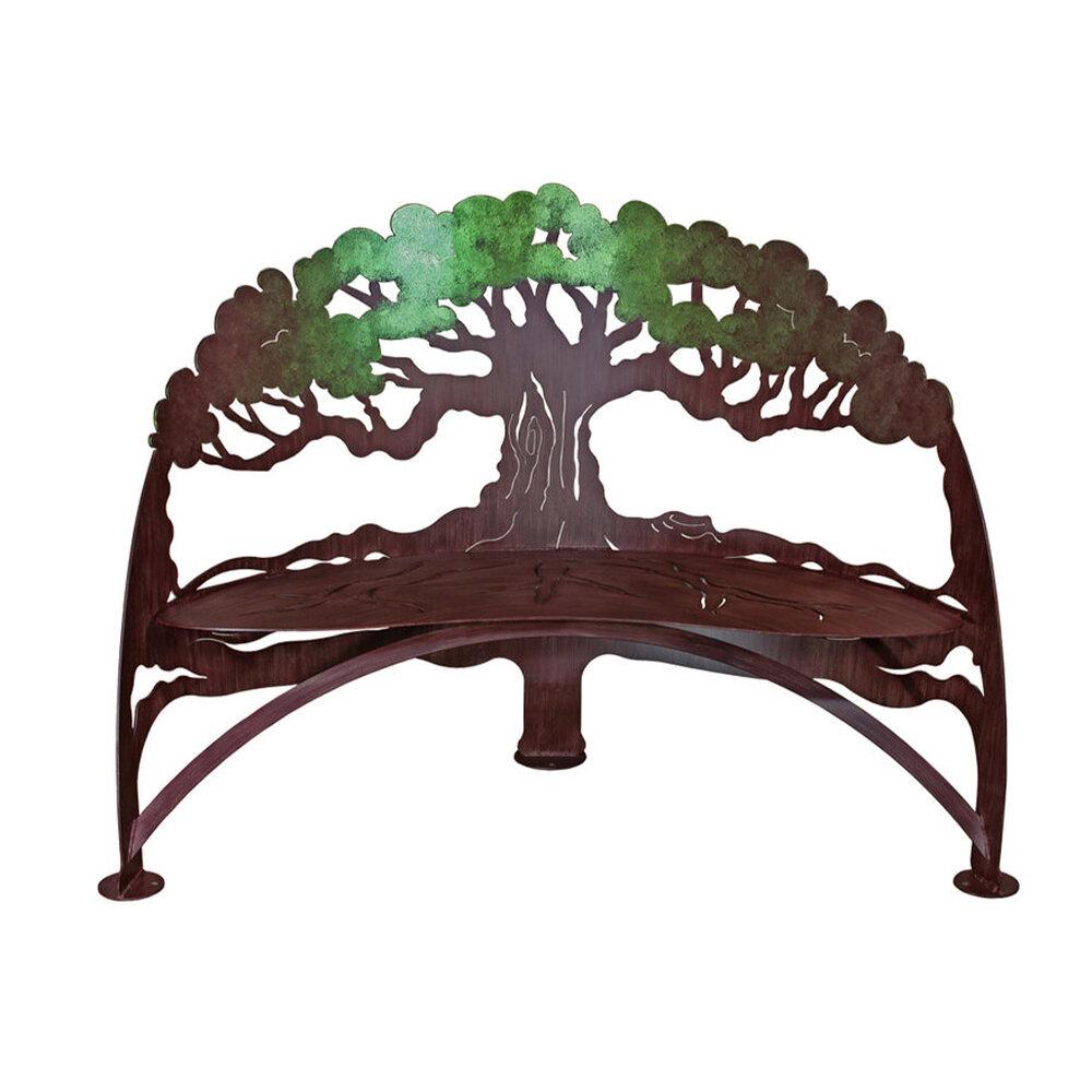 Superieur Tree Bench Verdi