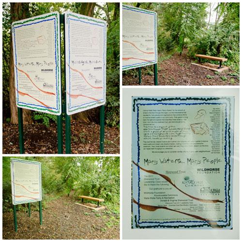Garrison Creek stream restoration and interpretive walking path