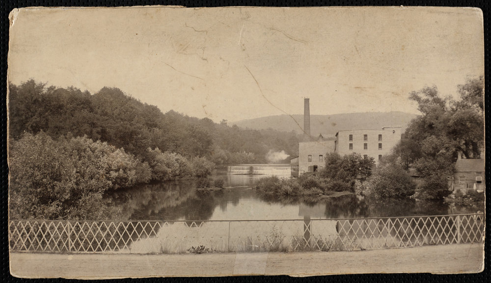 The Eagle Mill on the Housatonic River in Lee, Mass. The mill closed in 2008, after making paper for more than 200 years.