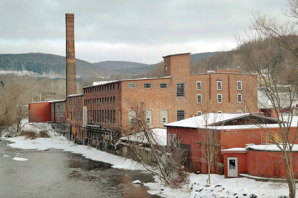 EAGLE FILE. Developers of the former Eagle Mill in Lee are working to land tax credits and other funding for the $60 million revitalization of the historic buildings, and new construction, on the 6.4-acre site.