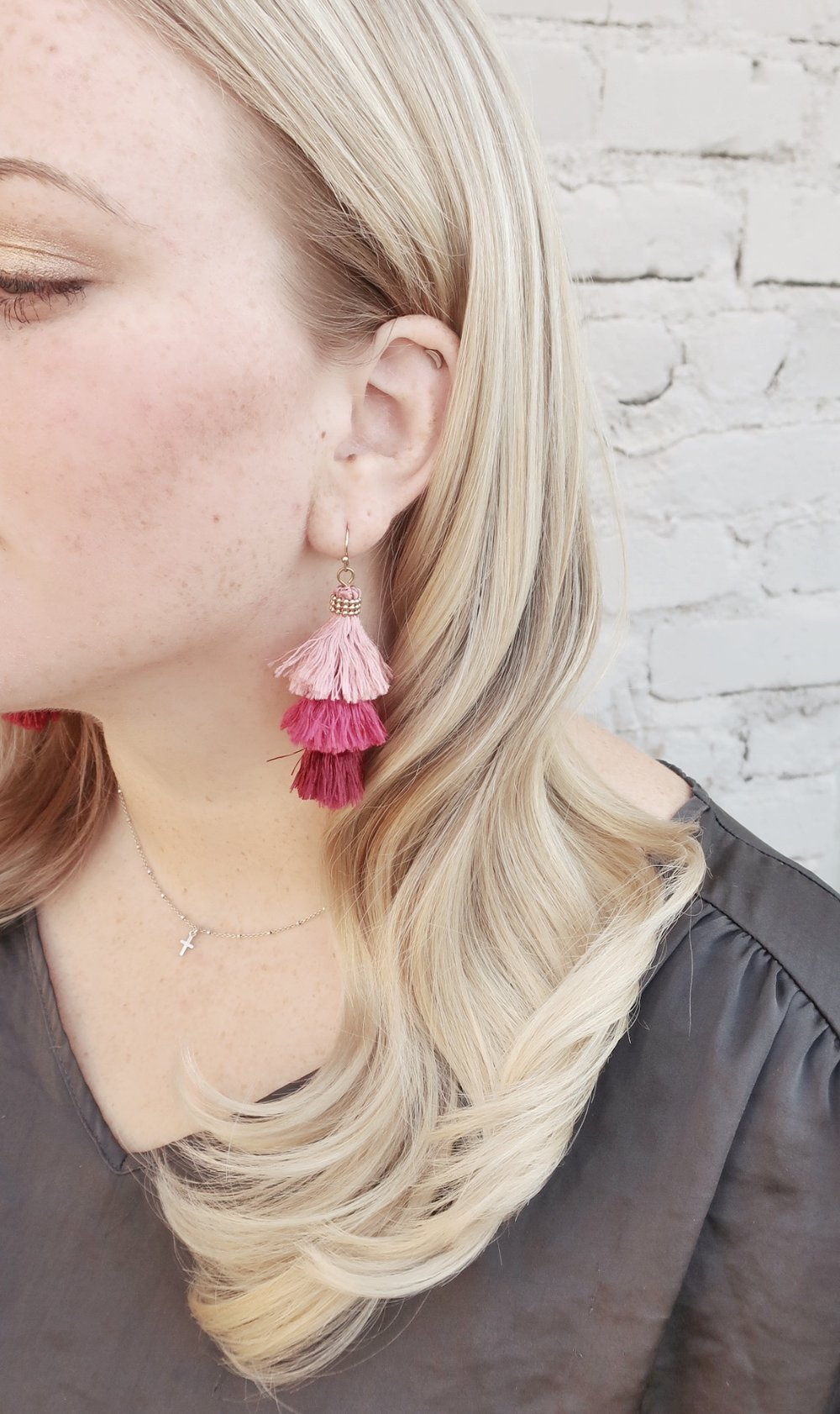 For added Drama - Add a deep part, tuck behind ear on the side with less hair and wear a pair of gorgeous earrings