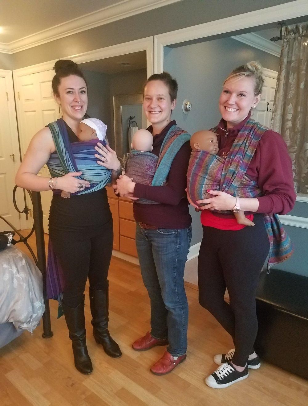 Photo taken by Jessica Swan, MSM, LM, CPM at  Puget Sound Birth Center , Kirkland.