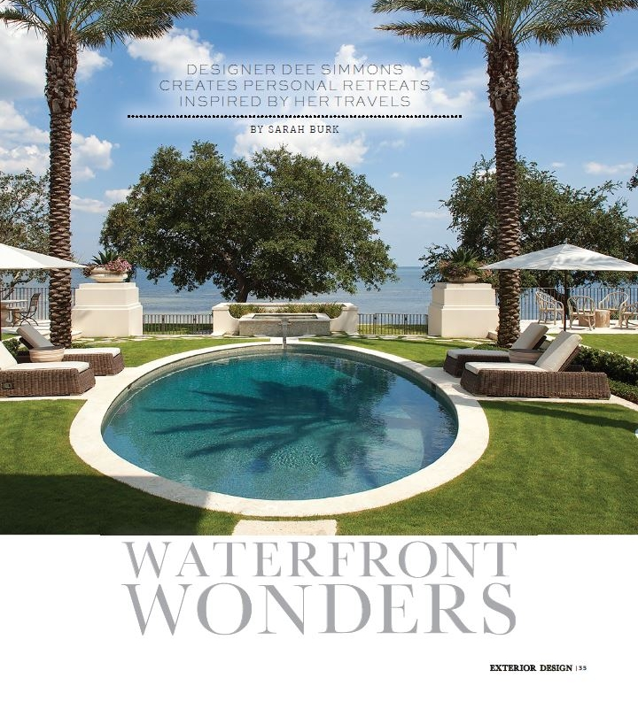 - Design project feature published in the July 2018 print edition of Exterior Design.