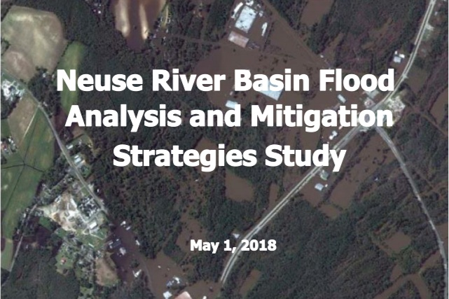 Building dams and creating retention ponds part of 123 page Flood Mitigation Study
