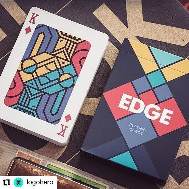 This really makes me want to design a deck of cards again.  #Repost @logohero • • • Edge #PlayingCards by Mike Creative Mints ♥️ Double tap if you like it  #art #design #drawing #artist #sketch #illustration #sticker #artwork #mood #draw #creative #instaart #designer #graphicdesign #logo #adobe #illustrator #photoshop #logodaily #creativity #logodesign #vector #simplycooldesign #flatdesign #logoinspirations #vectorart #dribbble