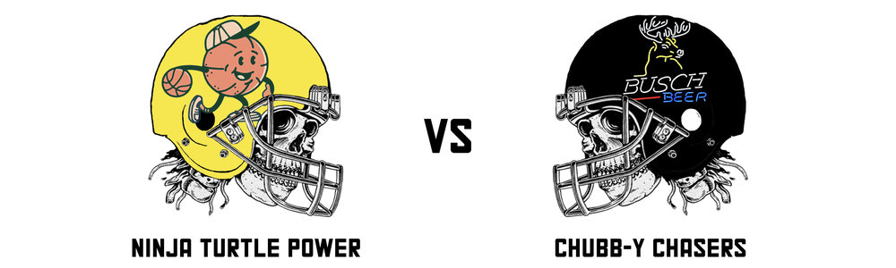 NINJA TURTLE POWER 122.34  vs CHUBB-Y CHASERS 61.14  In another absolute blowout Raph doubled up on Alec's score to improve to 4-2 on the season.  Aside from a dominant Harrison Butker (lol) performance, the Chubb-y Chasers didn't offer anything, where as Raph's team went above and beyond with a big performance from Davante Adams the cherry on top.  As a friendly reminder, playoff places will be determined by points scored when tied on wins. 61.14 points is not a recipe for final placing success.   Ninja Turtle Power's Top Trio:  Andrew Luck - 25.74 Davante Adams- 25.20 Ezekiel Elliott - 17.70   Chubb-y Chaser's Top Trio:  Harrison Butker (yes really) - 18.00 Keenan Allen - 10.30 Lesean McCoy - 9.40