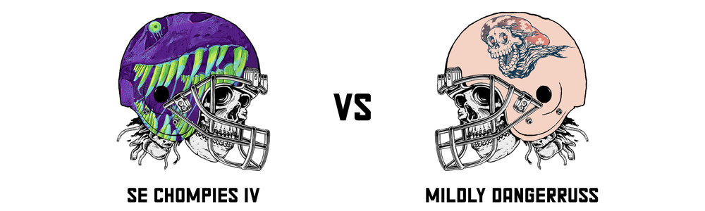 SE CHOMPIES IV 62.76 vs  MILDLYDANGERRUSS 124.42   Much like the New Orleans Saints my team is currently putting the pretenders in their place. This represents the second time this season my team has demolished Brett and also, I believe, the second time I have doubled up on someones score.  Lovely.  On to the next one.   SE Chompies IV's Top Trio:  Patrick Mahomes - 20.06 Tarik Cohen - 10.40 Jake Elliott - 10.00   Mildly DangerRuss's Top Trio:  Nick Chubb - 32.90 Tyreek Hill - 25.70 Melvin Gordon - 22.50