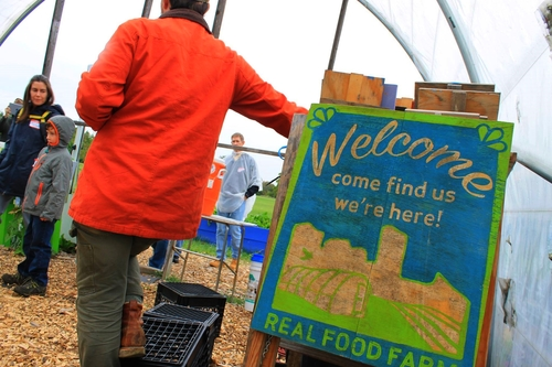 REAL FOOD FARM - We hosted a tour at Real Food Farm in Baltimore on October 10th, 2014. Speakers included farm manager Tyler Brown & Education Coordinator Molly McCullagh. Abby Cock of the Baltimore City´s Office of Sustainability also talked about integrating urban agriculture into the City of Baltimore´s Planning efforts.