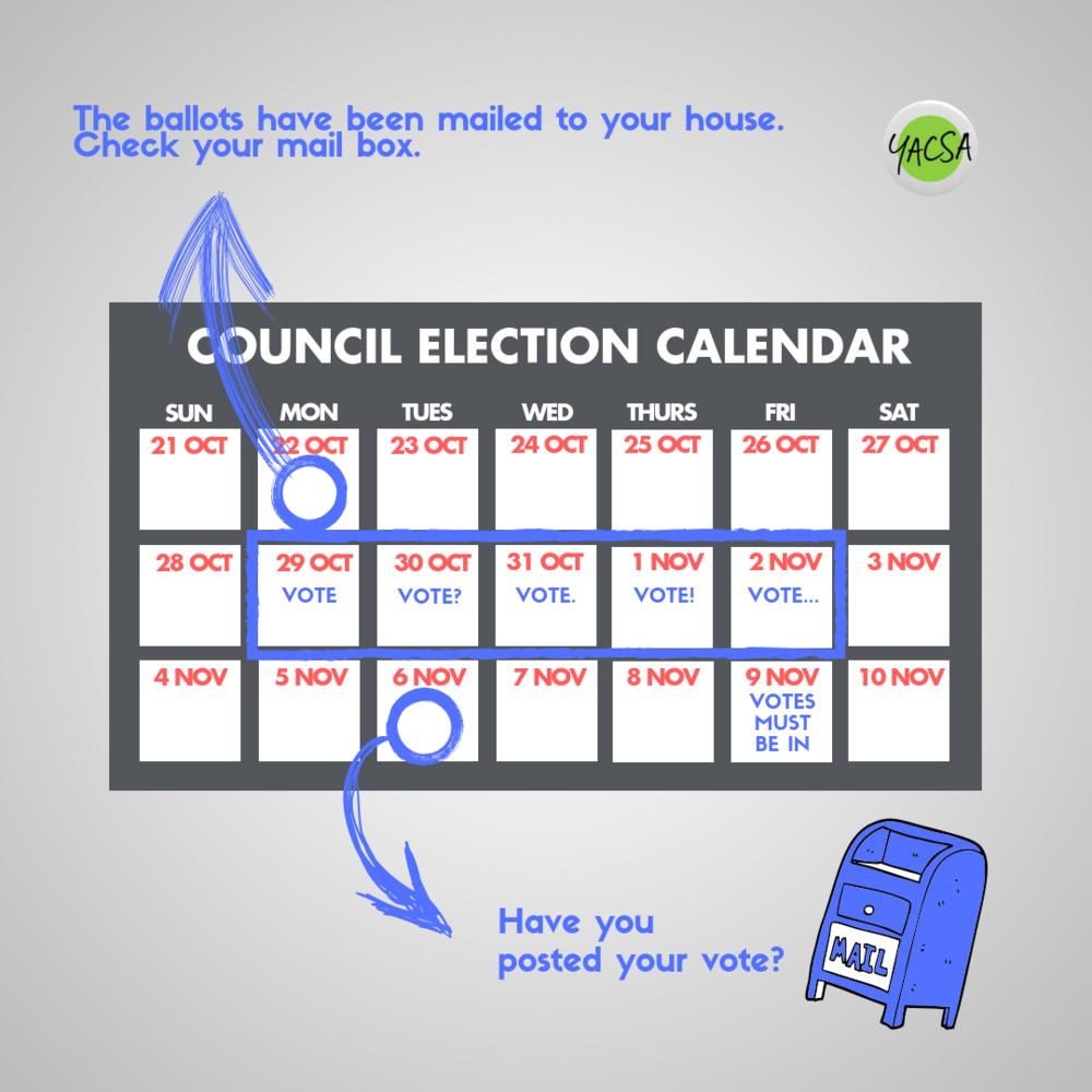 council election calendar