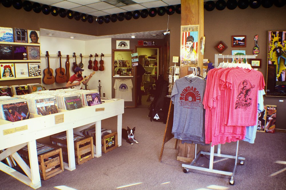 Roundabout Music Company - Letcher CountyRoundabout Music Company sells new and used vinyl records, CD's, DVD's and tapes alongside new & vintage musical instruments, equipment and supplies.