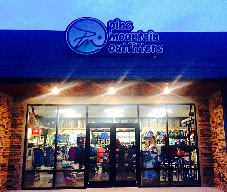 Pine Mountain Outfitters - Letcher CountyAt Pine Mountain Outfitters, we love a great adventure! We are a full-line outfitter who provides an extensive selection of hiking, camping, backpacking, and other outdoor related items for the entire family.