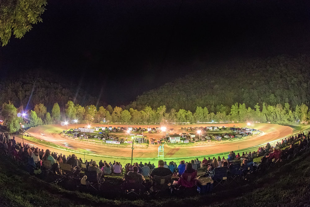 Mountain Motor Speedway - Legendary auto racing dirt track in Letcher County just off Highway 15 between Hazard and Whitesburg. Races held on the weekends from late spring until early fall.