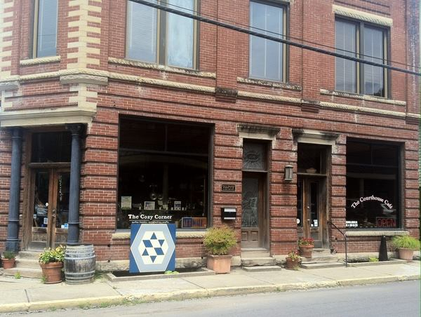 The Cozy Corner - Letcher CountyWhitesburg, Kentucky - books, quilts, handmade art and crafts, folk art -celebrating the literature, music and artistic traditions of the Appalachian Mountains since 1973.