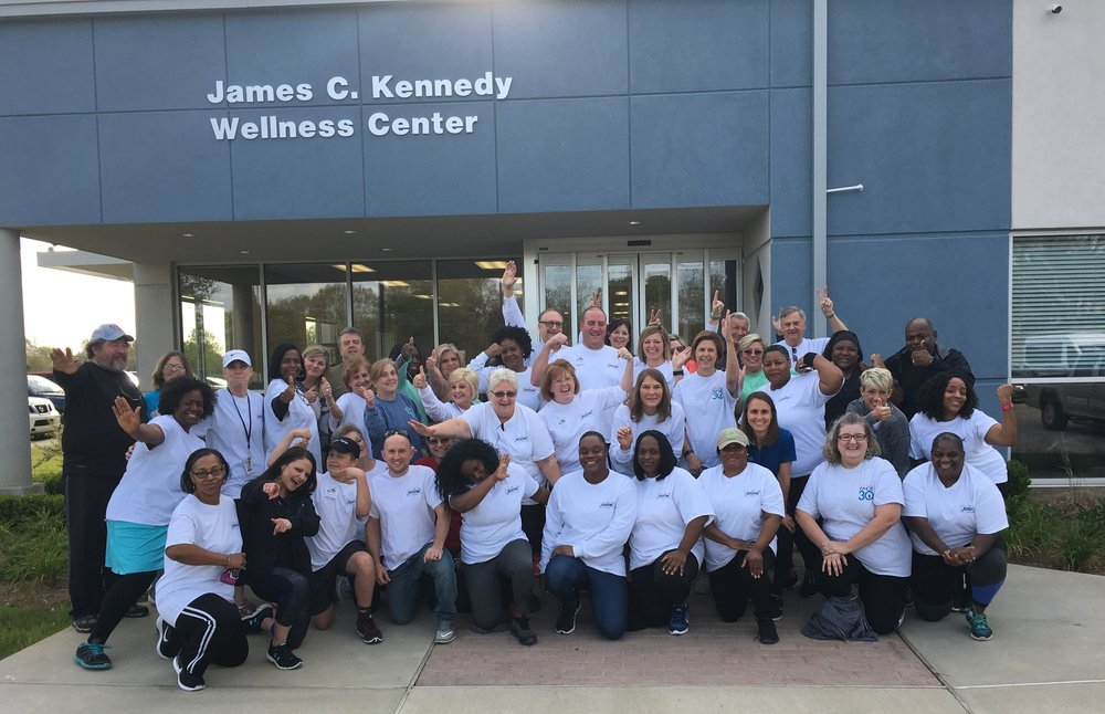 Our program participants were so excited about their results and to complete a one-mile walk/run. Many of them were able to reverse chronic health conditions, lose weight, gain energy and start the year off with new-found health and vitality.