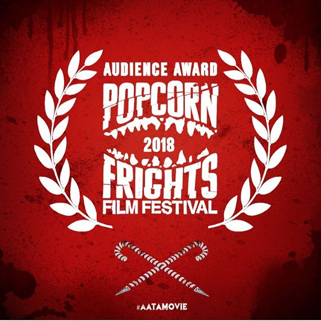 "Anna and the Apocalypse stole the show at @popcornfrights this year, taking home the ""Audience Award for Feature Film!"" Get ready to slash and sing this holiday season! 🎄💀- - - #popcornfrights #award #winner #aatamovie #filmfestival #tgif"