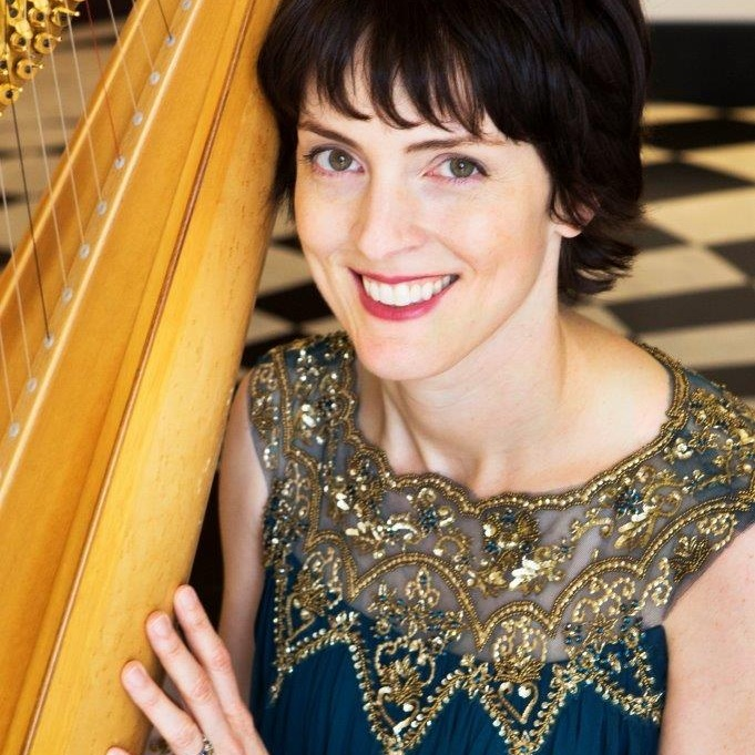 Elisabeth Remy Johnson    is the Principal Harpist of the Atlanta Symphony. A graduate of Harvard University with a double major in Music and French, she studied harp with Ann Hobson Pilot in Boston and Alice Chalifoux at the Salzedo Harp Colony in Camden, Maine.